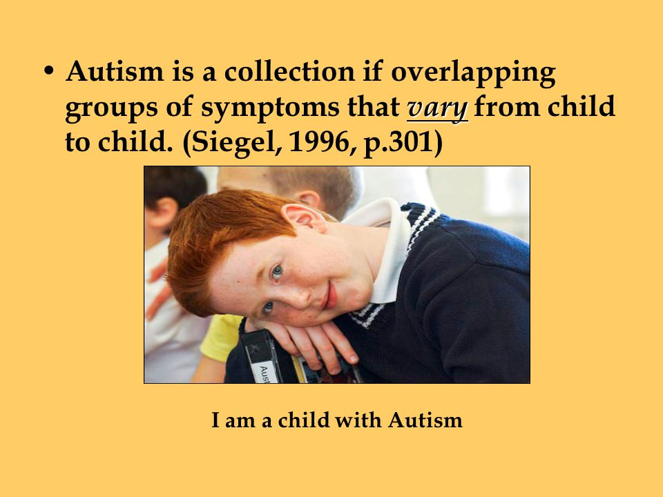 Communication Delay in, or total lack of language Autism Angel