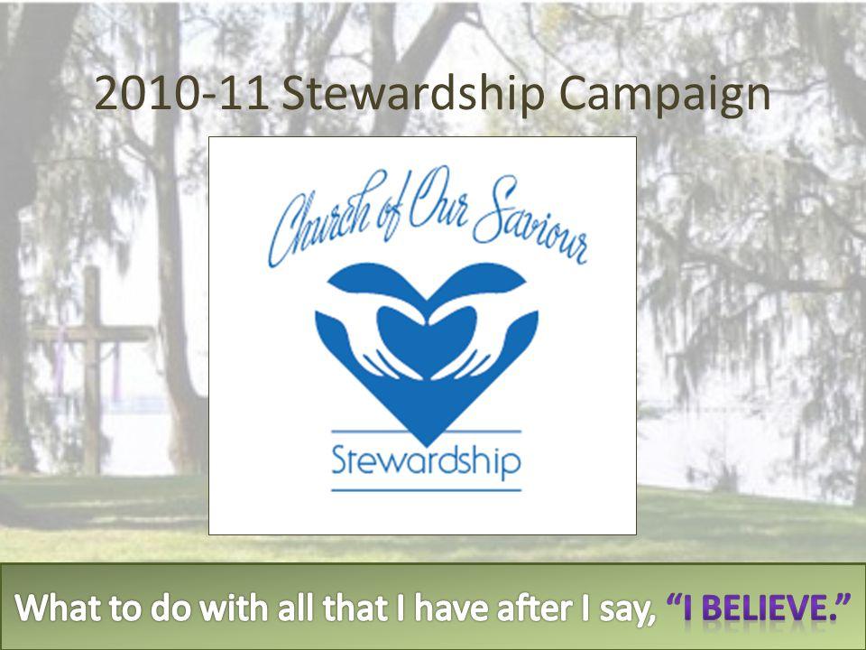 2010-11 Stewardship Campaign