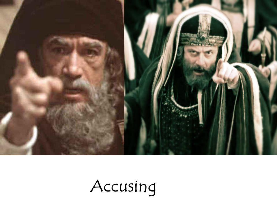 Accusing