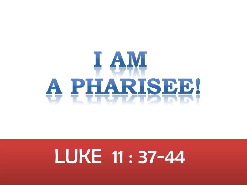 LUKE 11 : 37-44