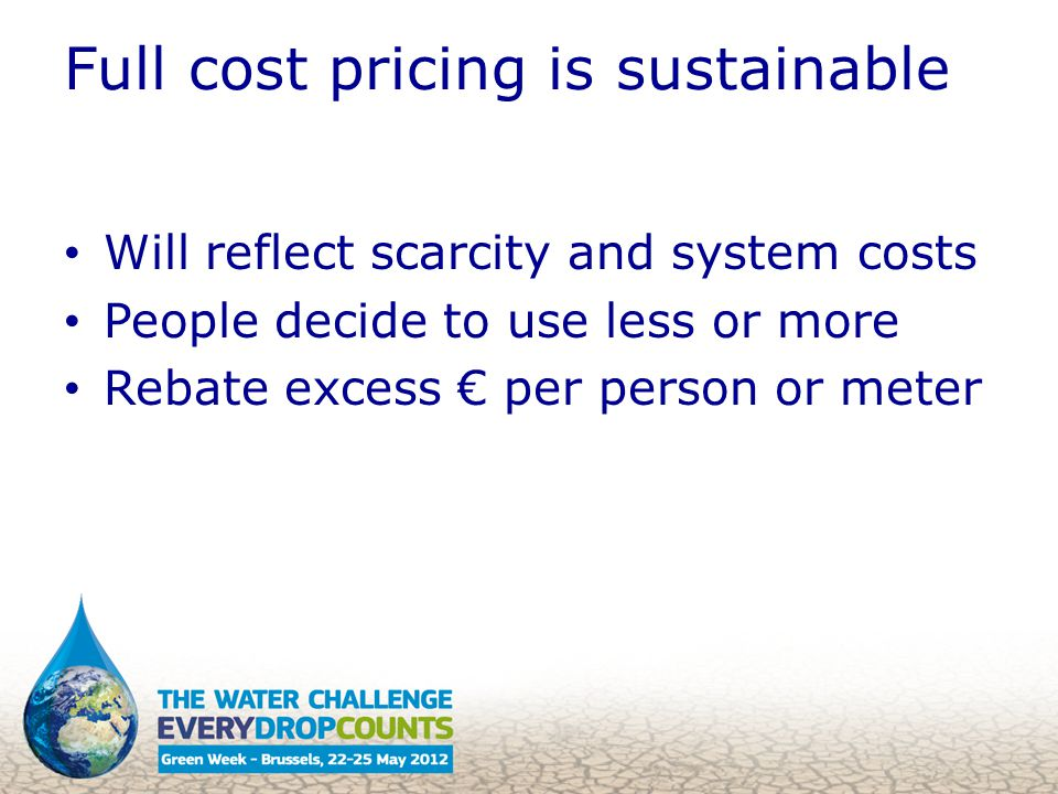 Social tariffs are hard to target Failure to provide service (LDCs) Diversion from poor to rich Full cost pricing is fair