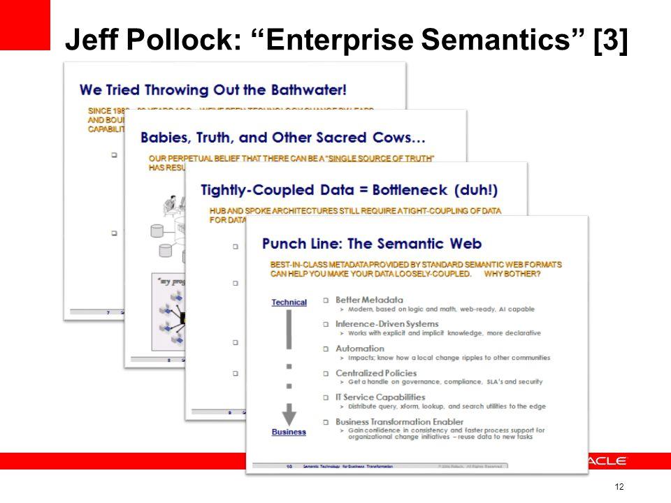 12 Jeff Pollock: Enterprise Semantics [3]