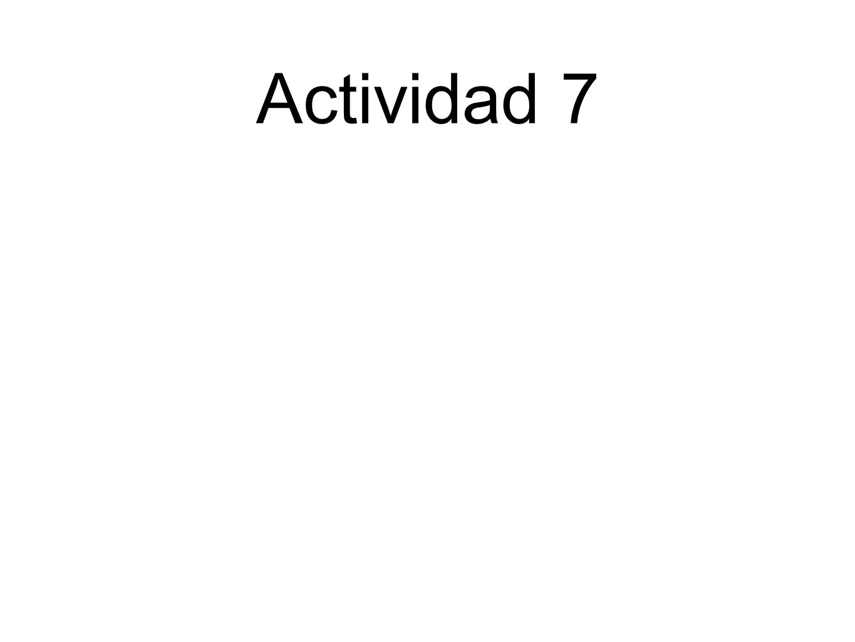 Actividad 7