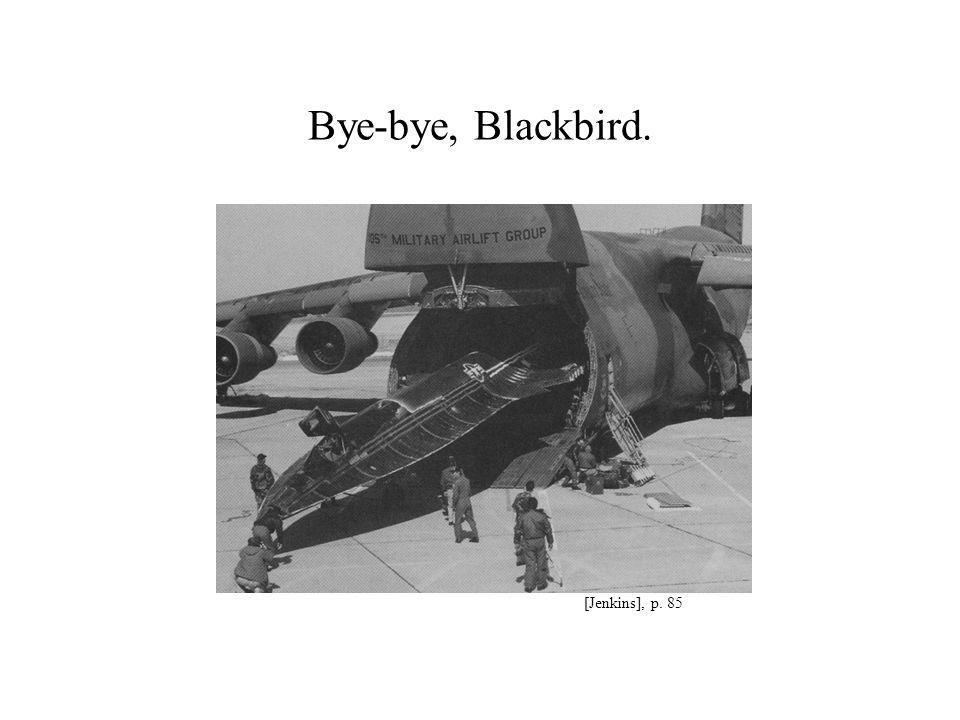 Bye-bye, Blackbird. [Jenkins], p. 85