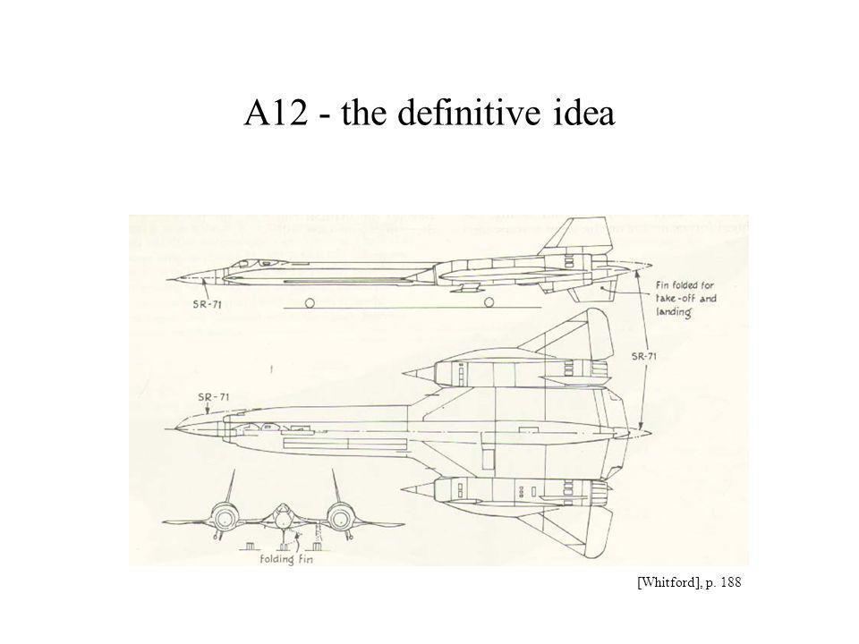 The U2 and the SR-71 Drendel p 36