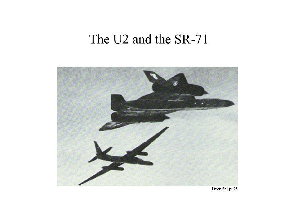 The U2 and the SR-71 Drendel p 36