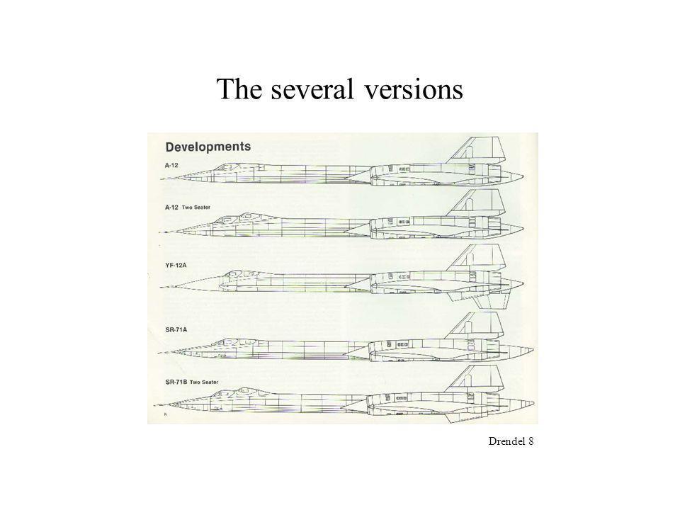 The several versions Drendel 8
