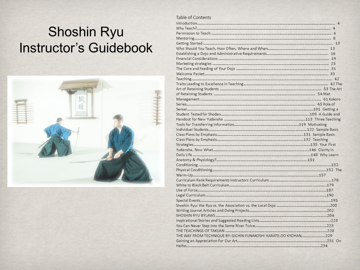 Table of Contents Introduction..............................................................................................................................................................