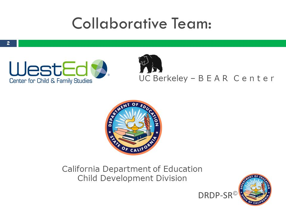 California Early Learning System 3