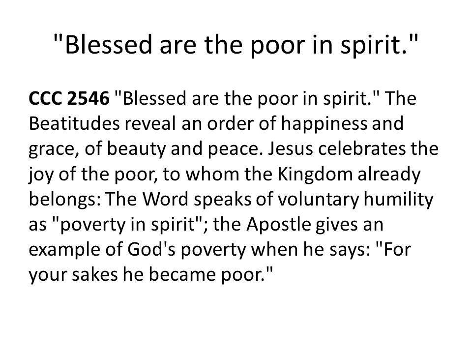 Has not God chosen those who are poor… Luke 6 20 And raising his eyes toward his disciples he said: Blessed are you who are poor, for the kingdom of God is yours.