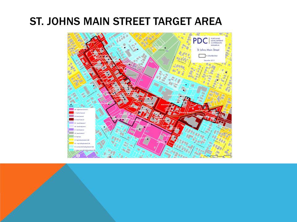 ST. JOHNS MAIN STREET TARGET AREA