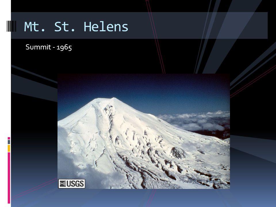 Pre- 1980 Mt. St. Helens
