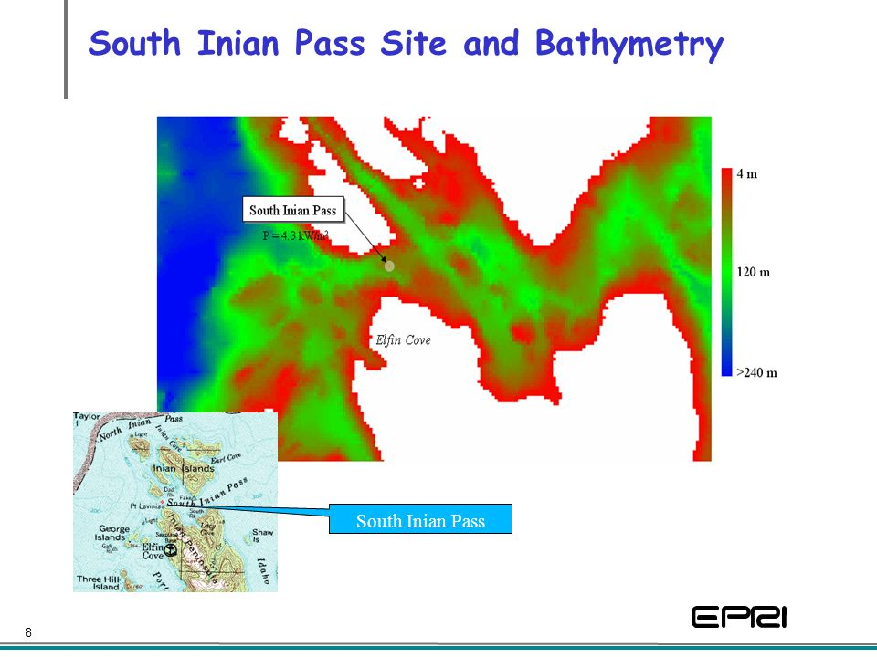 8 South Inian Pass Site and Bathymetry South Inian Pass