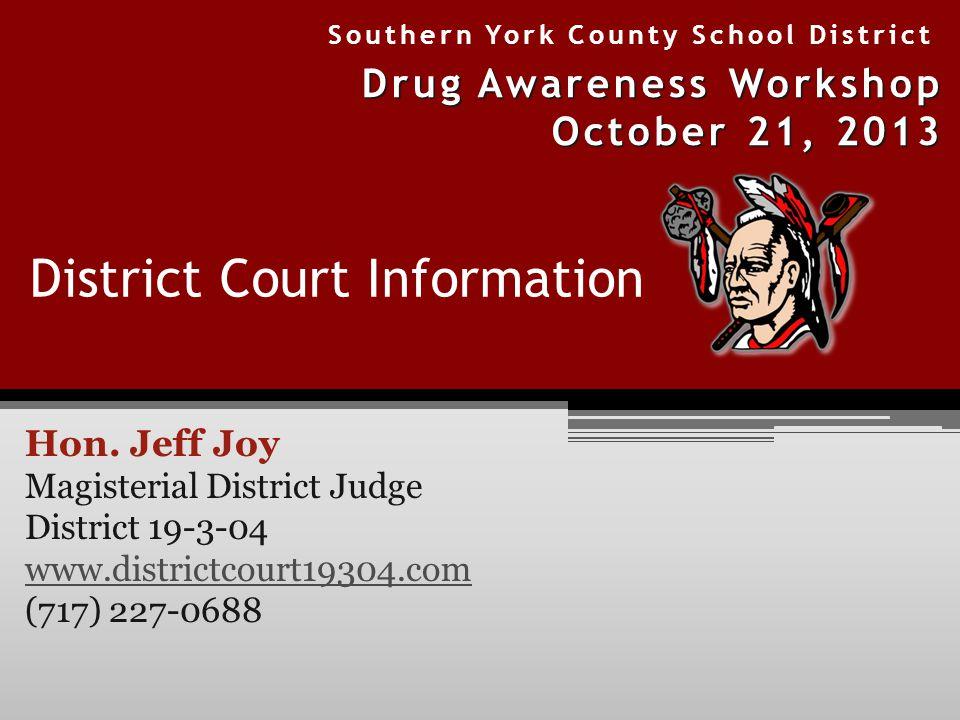 District Court Information Hon.