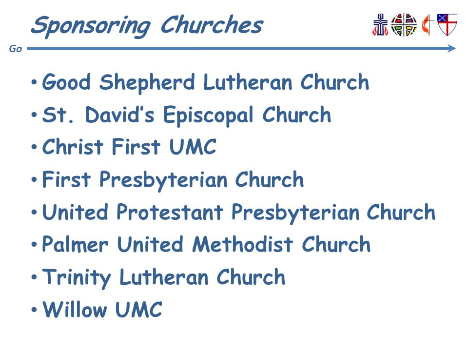 Go Sponsoring Churches Good Shepherd Lutheran Church St.