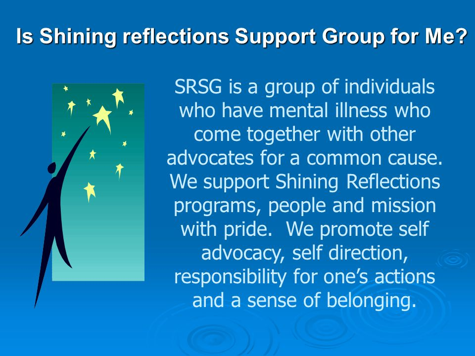 Shining Reflections Support Group Est. 1986 East Liverpool, Ohio