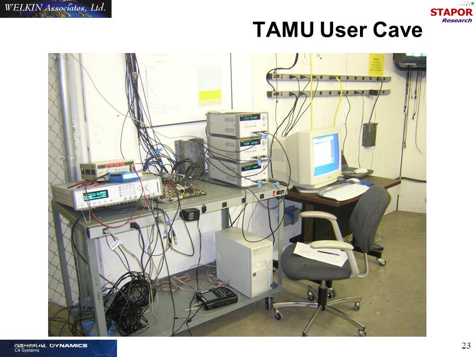 November 2005 23 TAMU User Cave