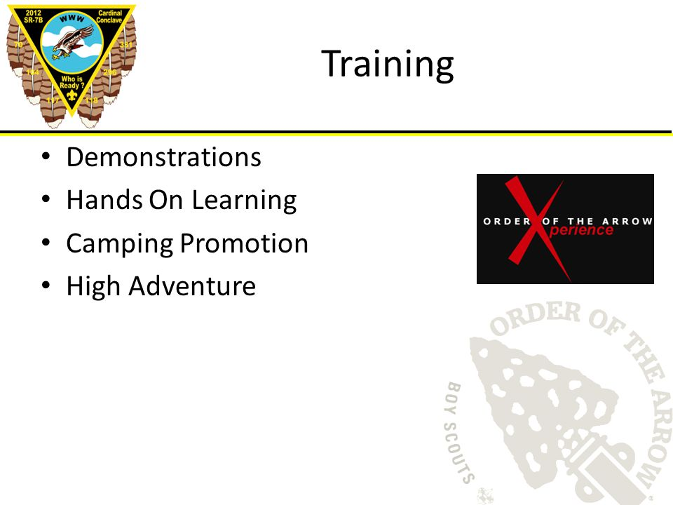 Training Demonstrations Hands On Learning Camping Promotion High Adventure