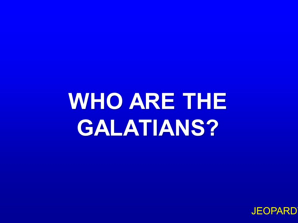 $300 Question Topic 4 PAUL'S EPISTLE TO THIS PEOPLE HAS FREQUENTLY BEEN CALLED 'THE MAGNA CARTA OF CHRISTIAN LIBERTY
