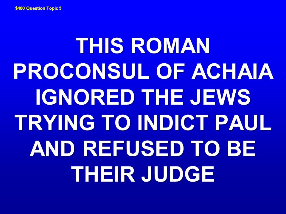 WHAT IS SOOTHSAYING JEOPARDY ! JEOPARDY !