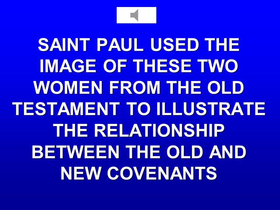 SAINT PAUL AND THE OT