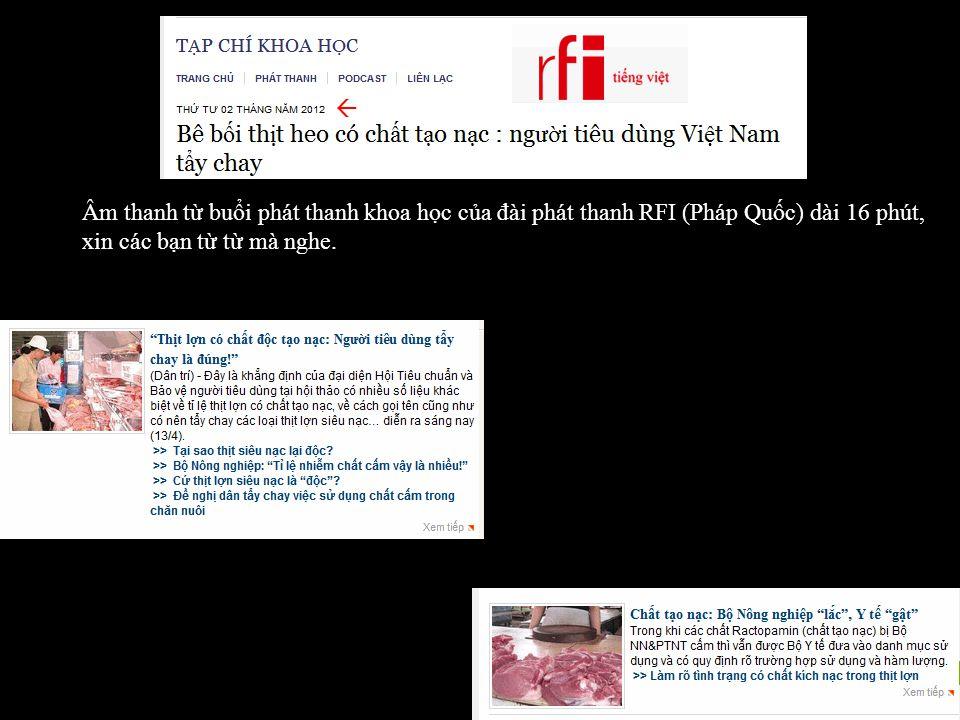 Thịt Heo Có Chất Tạo Nạc Người Tiêu Dùng Việt Nam Tẩy Chay Nhấn space bar đọc tiếp.