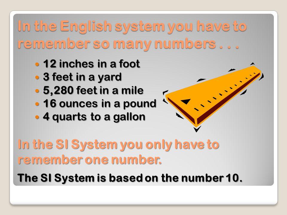 Measurement System Comparisons All Measurement systems have standards.