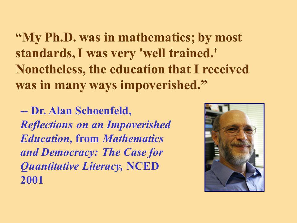 My Ph.D.