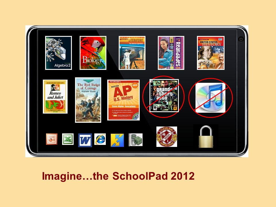 Imagine…the SchoolPad 2012