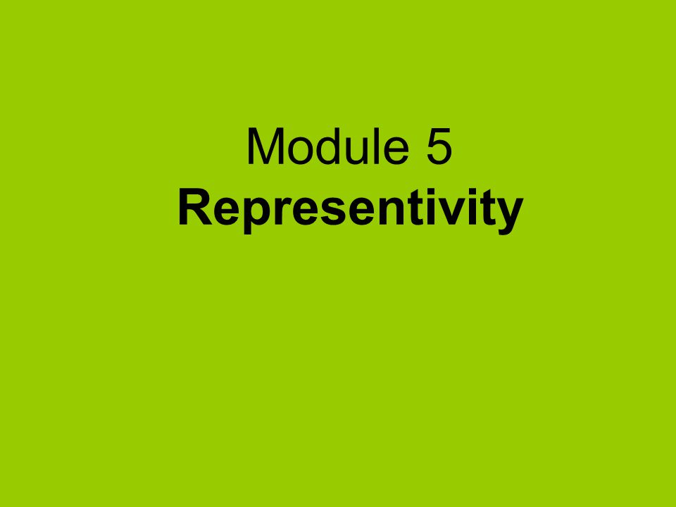 Imagine you are organising a SP workshop: how would you ensure representivity.
