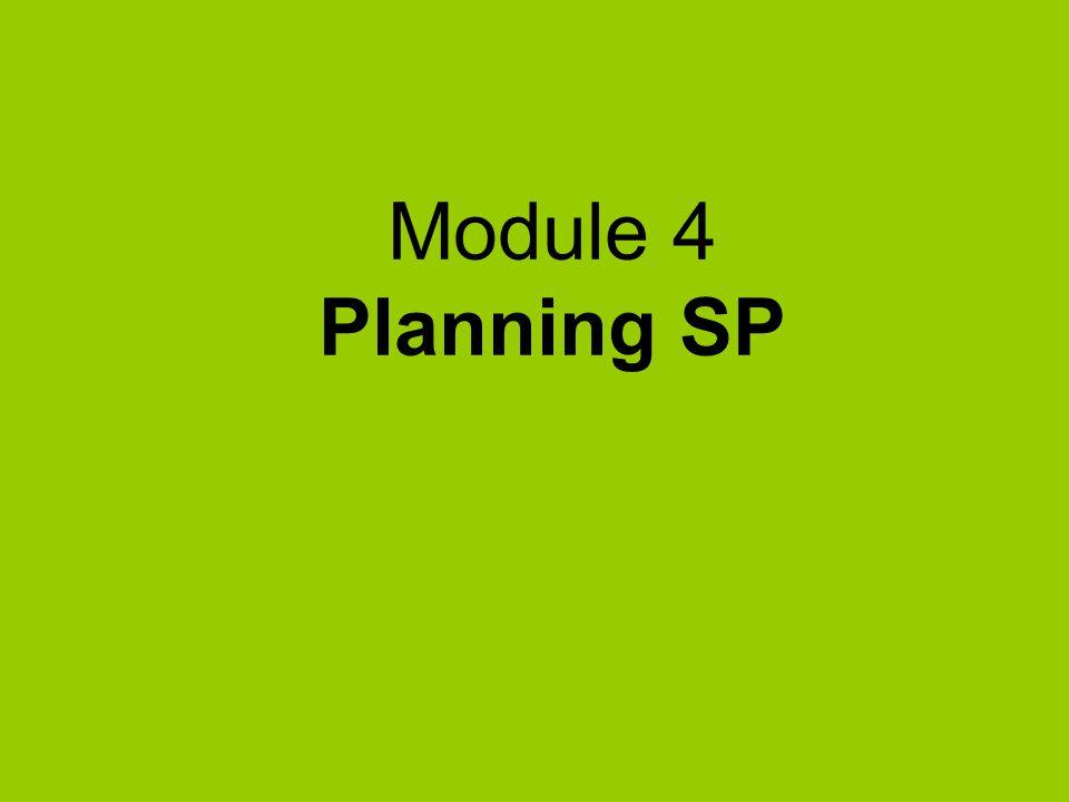Module 4 Planning SP