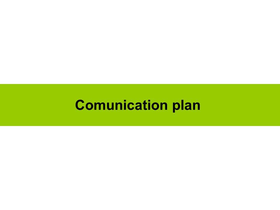 Comunication plan