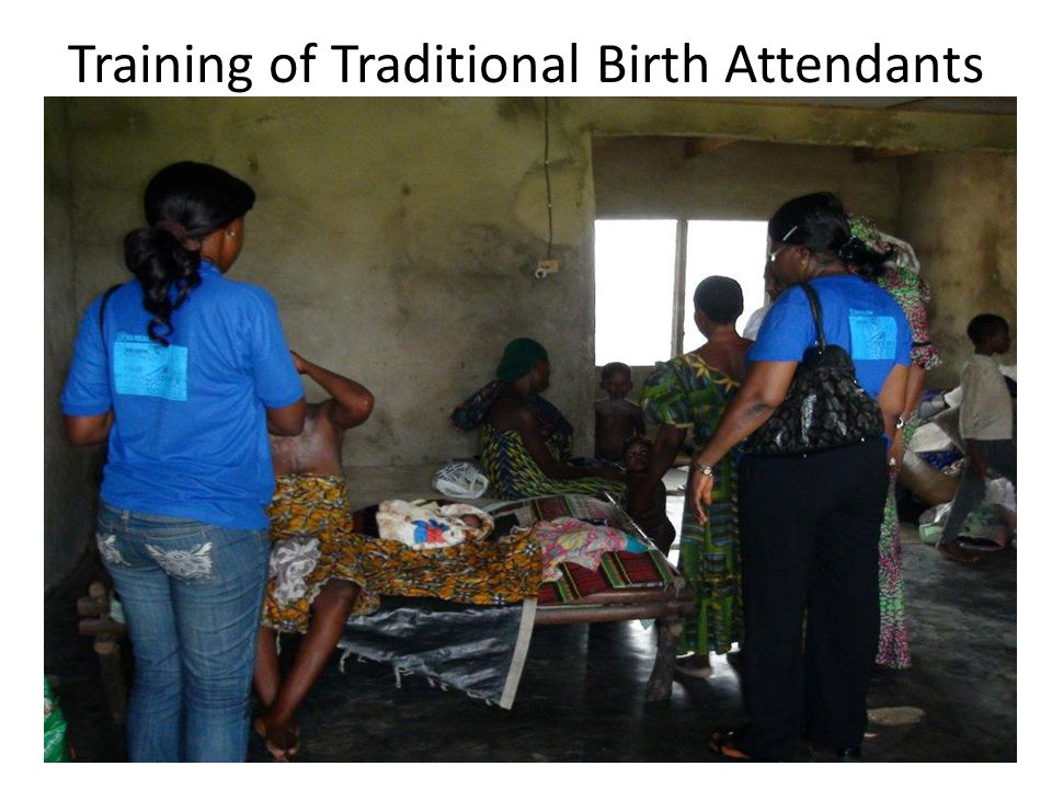 Training of Traditional Birth Attendants