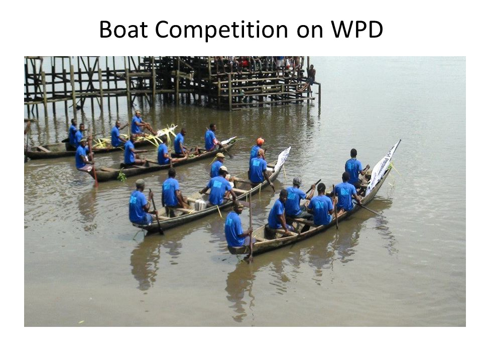 Boat Competition on WPD