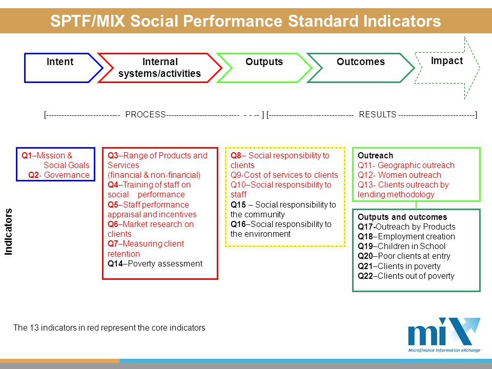 Learning from social performance reporting  What are we learning from the process.
