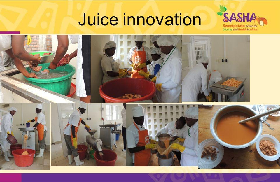 Juice innovation