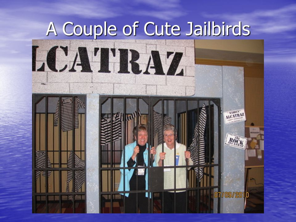 A Couple of Cute Jailbirds