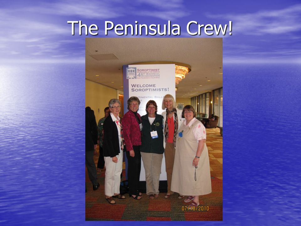 The Peninsula Crew!