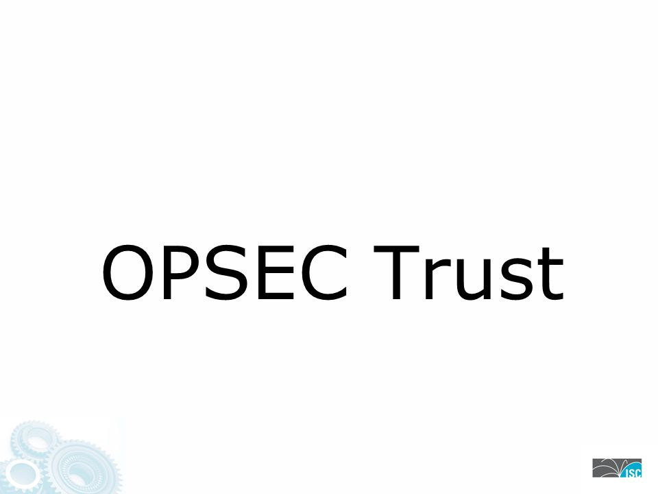 OPSEC Trust