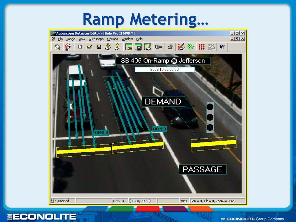 Ramp Metering…