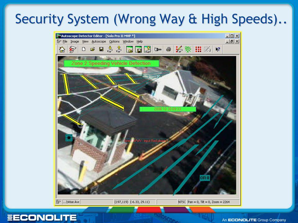 Security (Multi-Sensing Screening)..