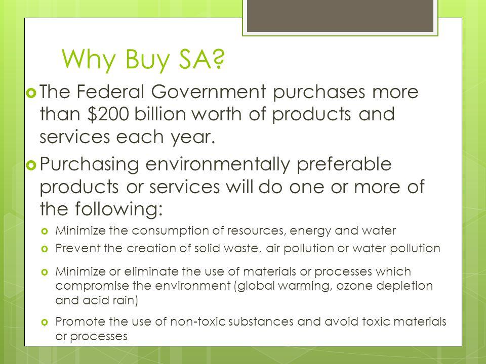 Why Buy SA.