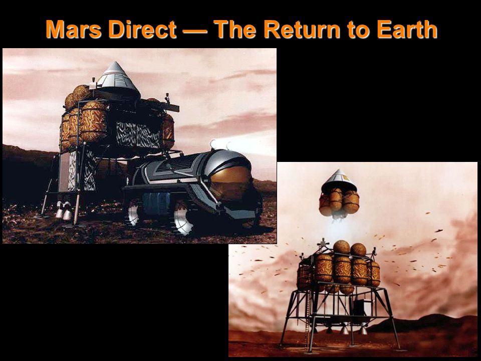 Mars Direct - rover & ERV launch Mars Direct — The Return to Earth