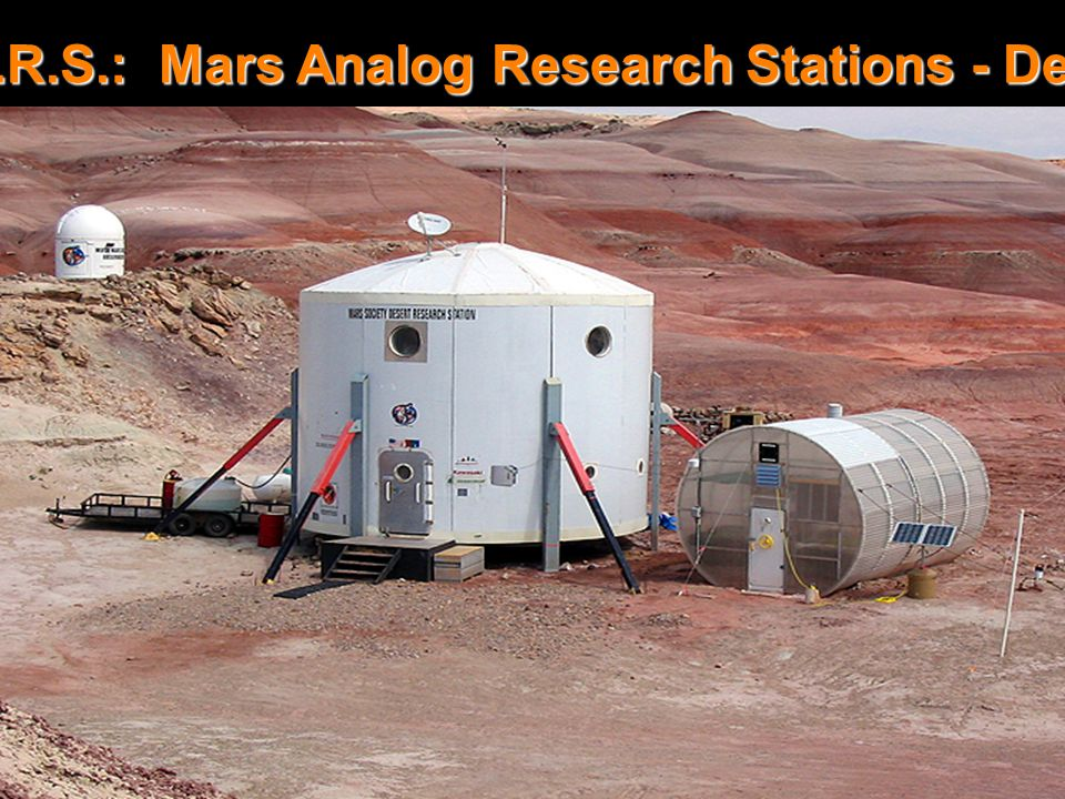 MDRS Complex M.A.R.S.: Mars Analog Research Stations - Desert