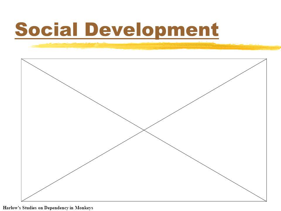 Social Development Harlow's Studies on Dependency in Monkeys