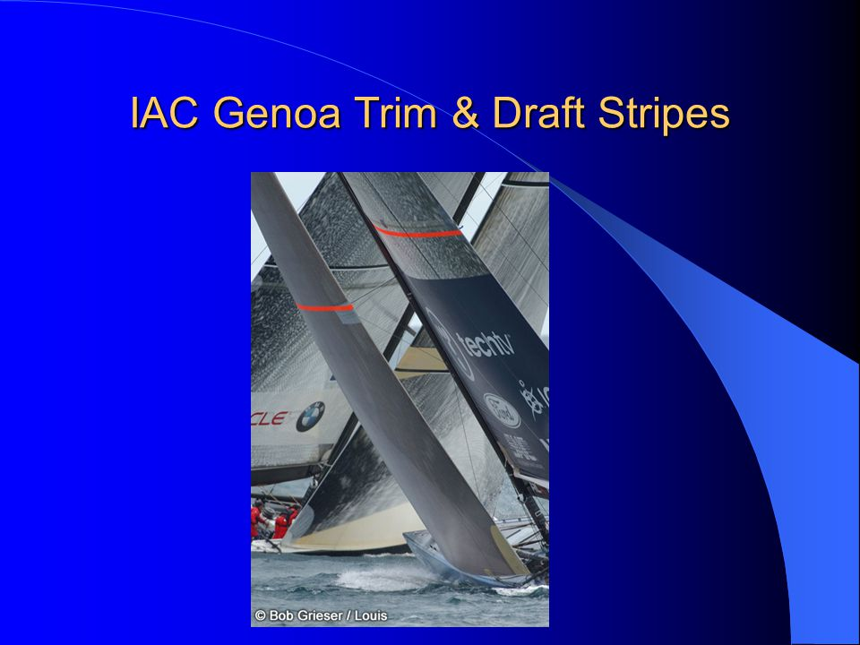 IAC Genoa Trim & Draft Stripes