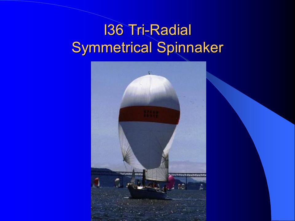 I36 Tri-Radial Symmetrical Spinnaker