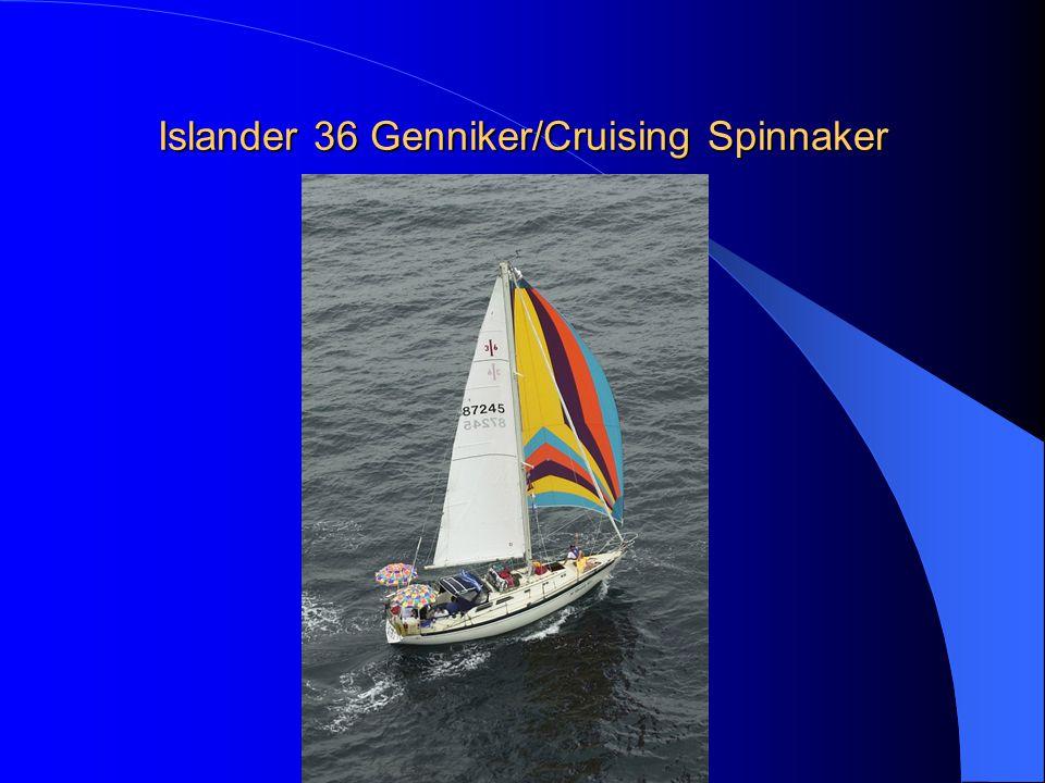 Islander 36 Genniker/Cruising Spinnaker