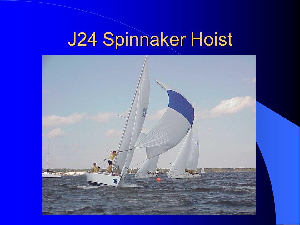 J24 Spinnaker Hoist