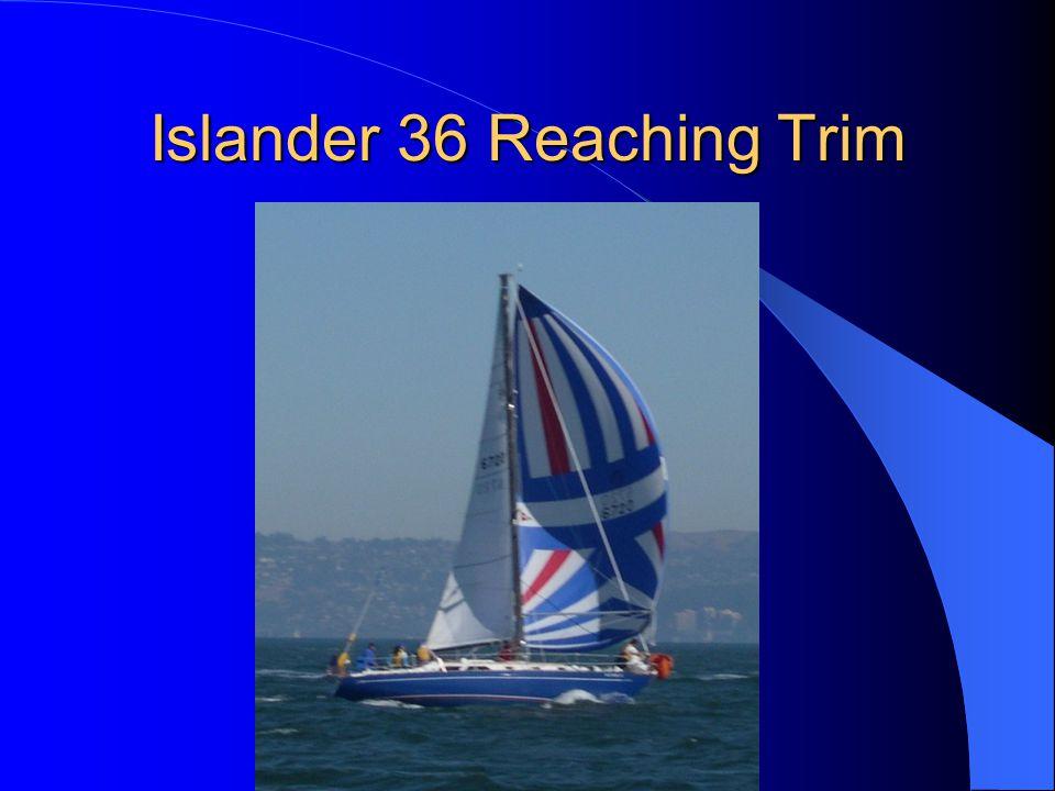 Islander 36 Reaching Trim